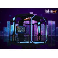 Buy cheap 2018 Latest Leke VR 9d VR Shooting Walking Roaming Multiplayer Game Machine for VR Park product