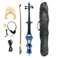 Buy cheap 4/4 Electric Cello, Blue- Great Condition+Gig Bag & Cello Bow & Bridge & Rosin product
