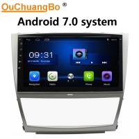 China Ouchuangbo car radio stereo multimedia android 7.0 for Toyota Camry 2006-2011 with USB SWC 1080P Video music on sale