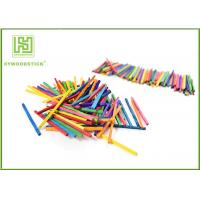 Buy cheap Multi - Color Math Wooden Counting Sticks , DIY Tools Mini Craft Sticks For Child product