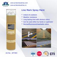 Buy cheap Acrylic Aerosol Line Mark Floor / Road Marking Spray Painting 750ml Weather Resistance product