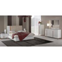 Buy cheap Scratch Resistant High Gloss Hotel Bedroom Furniture Sets , 6 Drawer Dresser product