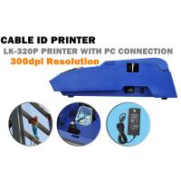 Buy cheap Handy electric cable id printer Number , Symbol wire label maker , 1.5 KGS product