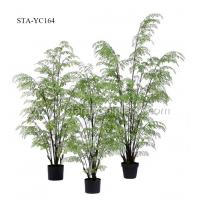 Buy cheap Green Foliages Artificial Hanging Ferns Fire Retardant 180CM 130CM 100CM product