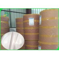China Customized Single PE Coated Paper Roll 40 GSM Greaseproof FDA Approved on sale