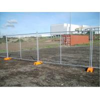 Buy cheap Hot Dipped Galvanized Temporary Chain Link Fence Panels Low Carbon Steel product
