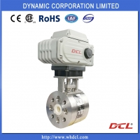 China Direct Mounting Actuator CF3M Electric Actuated Ball Valve on sale