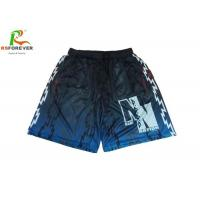 China Sublimated Mesh Custom Team Sportswear For Mens Polyester Basketball Shorts on sale