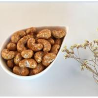 Buy cheap Kosher Halal Certified Soy Sauce Coated Roasted Cashew Nut Snacks from wholesalers