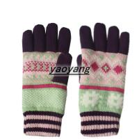 China New styles and high quality ladies knitted gloves KL050 on sale