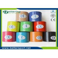 Buy cheap Breathable physio therapy kinesiology tape sports muscle tape various colour product