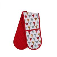 Buy cheap Custom Long Cotton Microwave Oven Mitts Christmas Theme For Hand Protection product