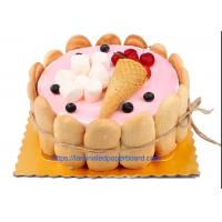 Buy cheap Cake Board Food Grade With Aluminium Foil Paper For Food Packaging from wholesalers