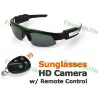 Buy cheap Mini Hidden Sunglasses Camera with Remote Control from wholesalers