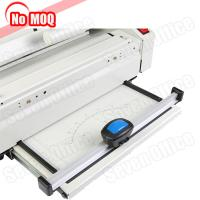Buy cheap Automatic desktop hot melt glue book binding machine with creasing function product
