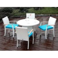 outdoor leisure patio dinning tables and chairs