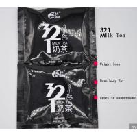 Buy cheap GMP Certified Slimming Milk Tea Drinking Powder Herbal Weight Loss 321 Milk Tea Instant Beverage product