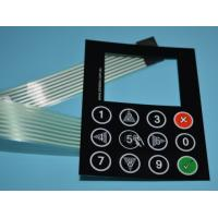 Buy cheap Silk screen printing embossing buttons LCD display female connectors membrane switches product
