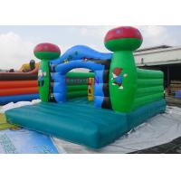 Buy cheap 5 x 4 m 0.55mm PVC Tarpaulin Mushroom Commercial Jumping Castles Bouncy from wholesalers