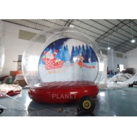 Buy cheap 4M 5M Inflatable Bouncing Snow Globe Photo Booth With Blower product