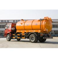 Buy cheap Sewage Waste Disposal Truck With High Pressure Washing And Suction Combination from wholesalers