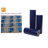 Buy cheap Self Adhesive Blue PE Protective Film For Window Glass Temporary Protection product