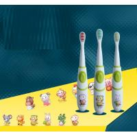 Buy cheap Soft Kids Electric Toothbrush / Rechargeable Sonic Toothbrush With Holder product