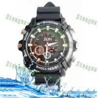 Buy cheap Newest 1080P waterproof spy camera watch DVR W1000 4GB/8GB/16GB product