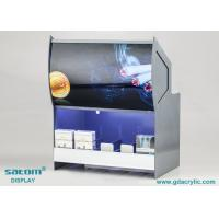 Buy cheap Vivid Poster Acrylic Cigarette Display Cabinet With Built In Lighting from wholesalers