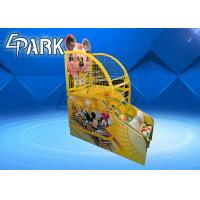 Buy cheap Attractive Cartoon Design Kids Basketball Arcade Game Machine from wholesalers
