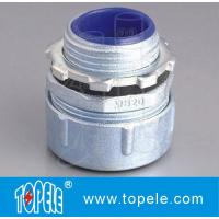 Buy cheap Plum Type Straight Liquid Tight Male Flexible Metal Conduit Connector Fittings from wholesalers