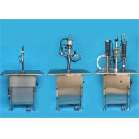 Buy cheap Industrial Automatic Filling Machine Aerosol Canning Machine 1000-1500 Can / H product