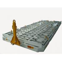 Airport Ground Service Equipment , Cargo Container Dolly Colson Caster
