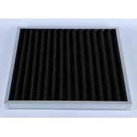 Buy cheap High Efficiency G4 V Bank Z-line Panel Air Filter , Activated Carbon Media product