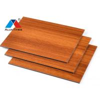 Buy cheap Waterproof Aluminium Composite Panel Wall Cladding With Strong Flexibility product
