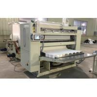 Buy cheap 4-11KW V Folded Tissue Folding Machine High Speed PLC Control System product