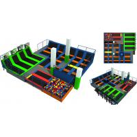 Buy cheap 280M2 Free Design Shopping Mall Relaxing Center Indoor Children Trampoline Park from wholesalers