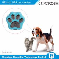 Buy cheap IP66 waterproof smallest micro gps transmitter tracker for pet dogs cats with gen fence alarm from wholesalers