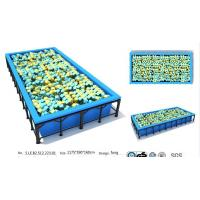 Buy cheap 69M2 China Professional Manufacture Trampoline/ China Low Price Jumping Bed/ Fitness Club from wholesalers