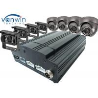 Buy cheap Fuel Tank Monitoring 3G / 4G GPS Wifi 8ch Mobile DVR , HDD SSD MDVR With Cameras product