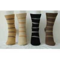 Buy cheap Luxury Bilateral Cashmere + Spandex Custom Sports Striped Socks for Women product