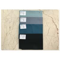 Buy cheap Durable Ventilated Double Faced Wool Fabric Soft With Light Haze Blue 70 Wool product
