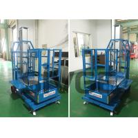 Buy cheap Cargo Picker 2.8m Mast Type Self Propelled Elevating Work Platforms for Warehouse product