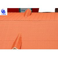 China Coloured Glaze Asa Upvc Synthetic Resin Roof Tile 2.5mm thickness Bamboo Design on sale