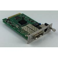 Buy cheap Remote Management 10G Media Converter  With 1 + 1 Fiber Optical Protection product