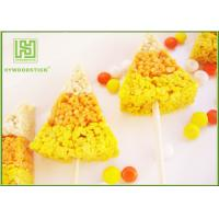 Buy cheap Colorful Wooden Corn Dog Sticks , Wooden Food Sticks For Baking 100pcs / Bag product