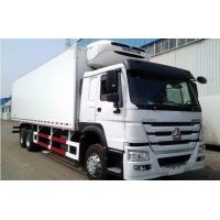 Buy cheap SINOTRUK 6x4 HOWO Refrigerated Truck Heavy Cargo Truck 20 Tons Load from wholesalers