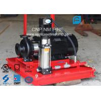 Buy cheap 3 M³/H Fire Fighting Jockey Pump Stainless Steel With 100-220PSI Head product