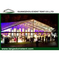 Buy cheap Aluminum Alloy 6061-T6 Frame Big Outdoor Trade Show Tents 30x60m For 1200 Peoples product