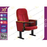 Buy cheap Wooden Back Cold Rolled Steel Feet Auditorium Theatre Seating Chair product
